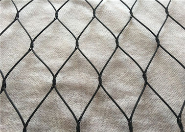 High Safety stainless steel 316 Woven Black wire Metal Mesh Screen
